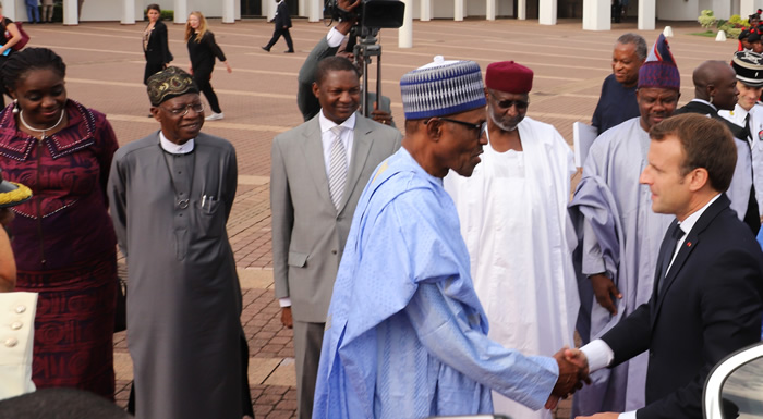 pthe big deal about president Macron's visit to Nigeria