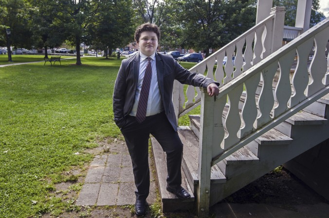 Image: 14 year old Governorship candidate of Vermont