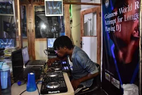 FUTA student breaks world record of longest playing DJ.jpeg