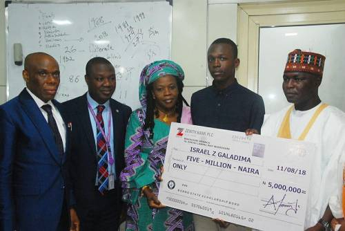 Student wins N5m For his JAMB & WAEC result