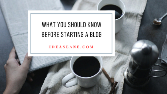 33 Tips for starting a blog newly