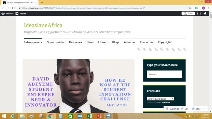 A blog for student entrepreneurs