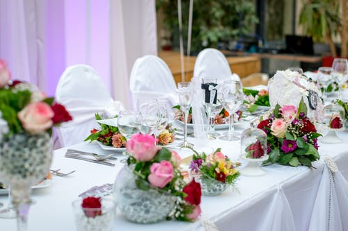 Pink event in an event planning blog