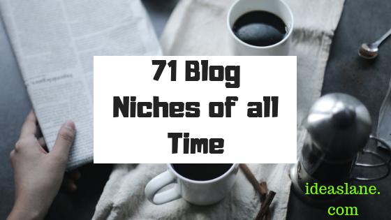 A Niche Blogger Reading