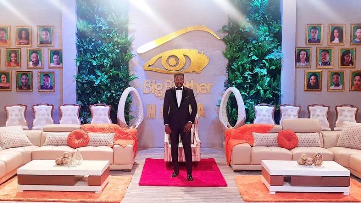 Big Brother Naija 2019 host in black jacket to name housemates